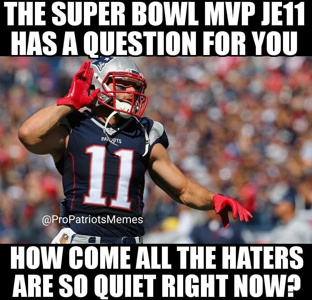 Jules Sb53 Mvp 2 3 19 With Images New England Patriots Patriots Fans Superbowl Mvp
