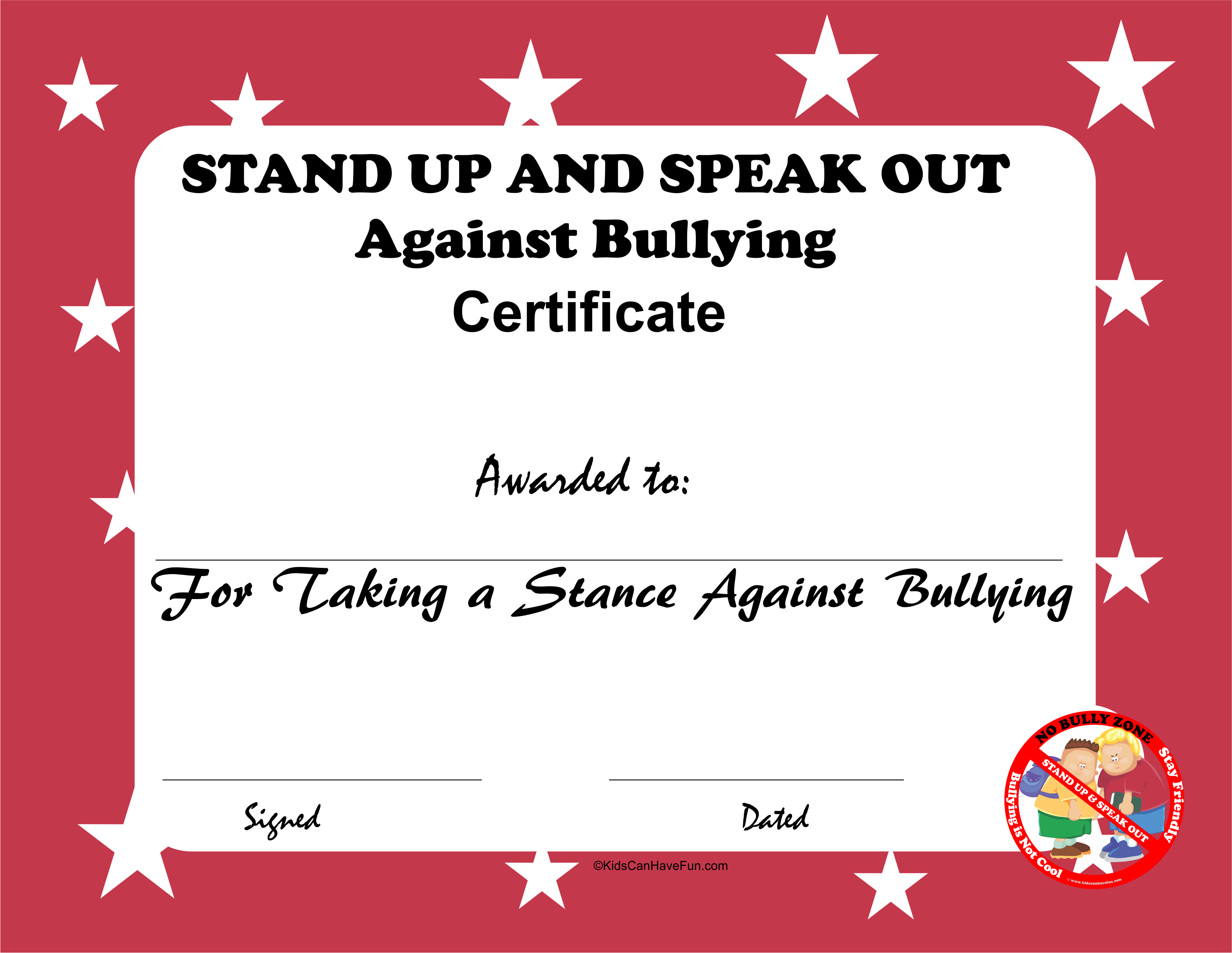 Stand Up And Speak Out