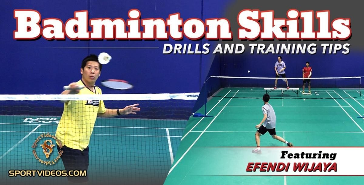 Badminton Skills Drills And Training Tips Featuring Coach Efendi W In 2020 Badminton Training Tips Skills