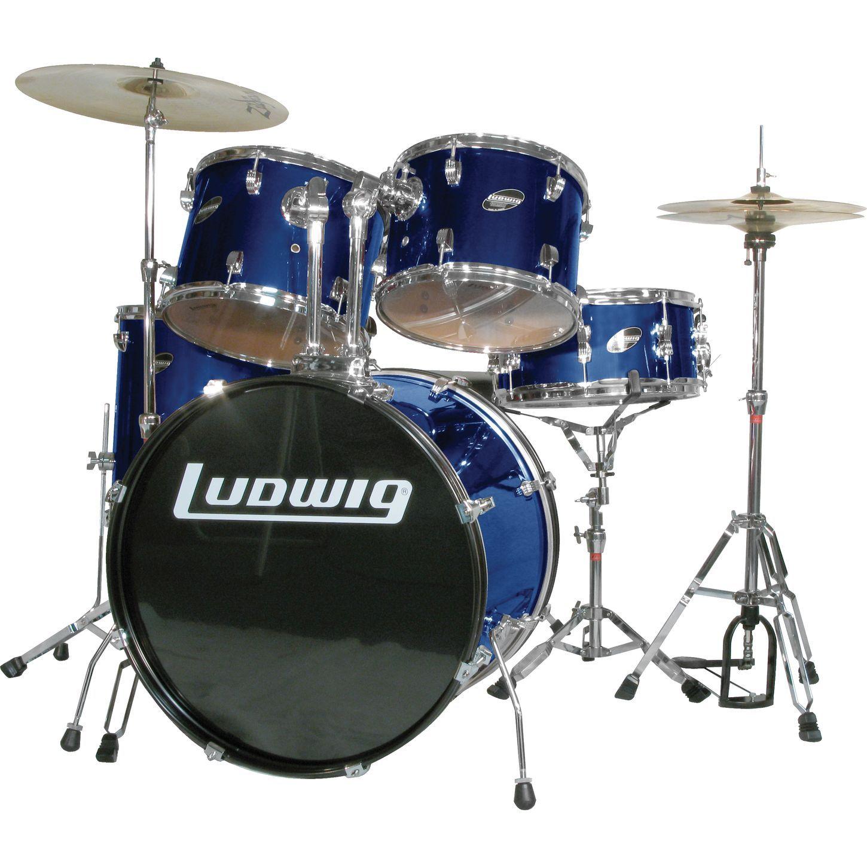 Ludwig Accent Combo 5 Piece Drum Set Acoustic Drum Acoustic Drum Set Drum Set