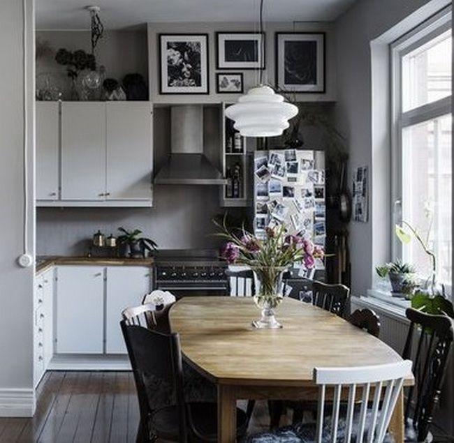 50+ Parisian Kitchen Decor Small Spaces_30 Kitchen Design Ideas