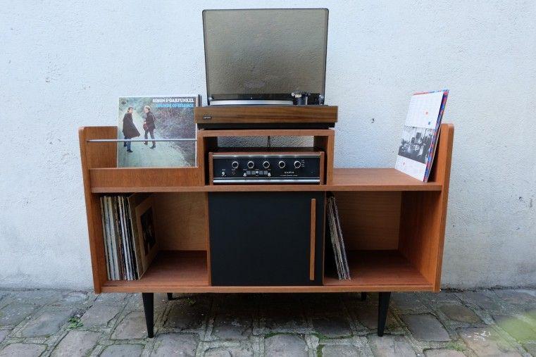Meuble Hi-Fi grand lignes 50\u0027 50th, Consoles and Room