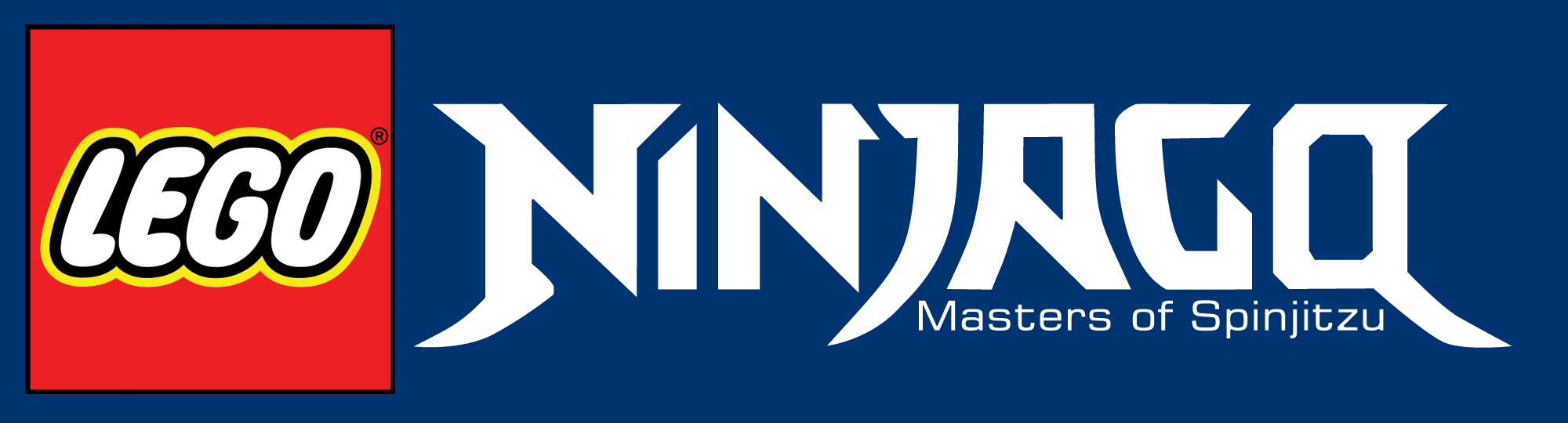 Lego ninjago stylized as ninjago masters of spinjitzu is - Lego ninjago logo ...