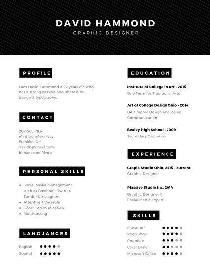untitled design  resume template professional resume