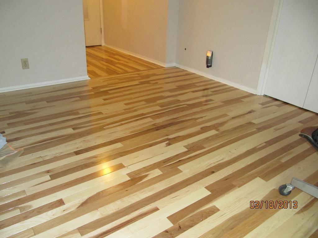 Natural Hickory Floor I Do Not Like This Decor Ideas