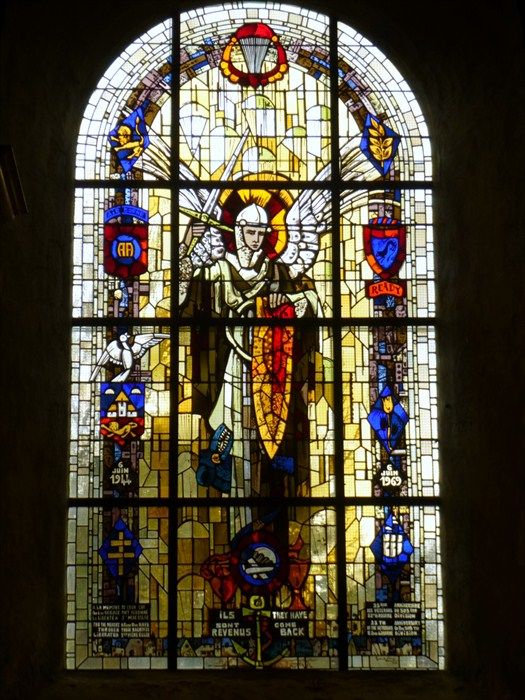 Archangel Michael - Patron Saint of Paratroopers. Normandy, france