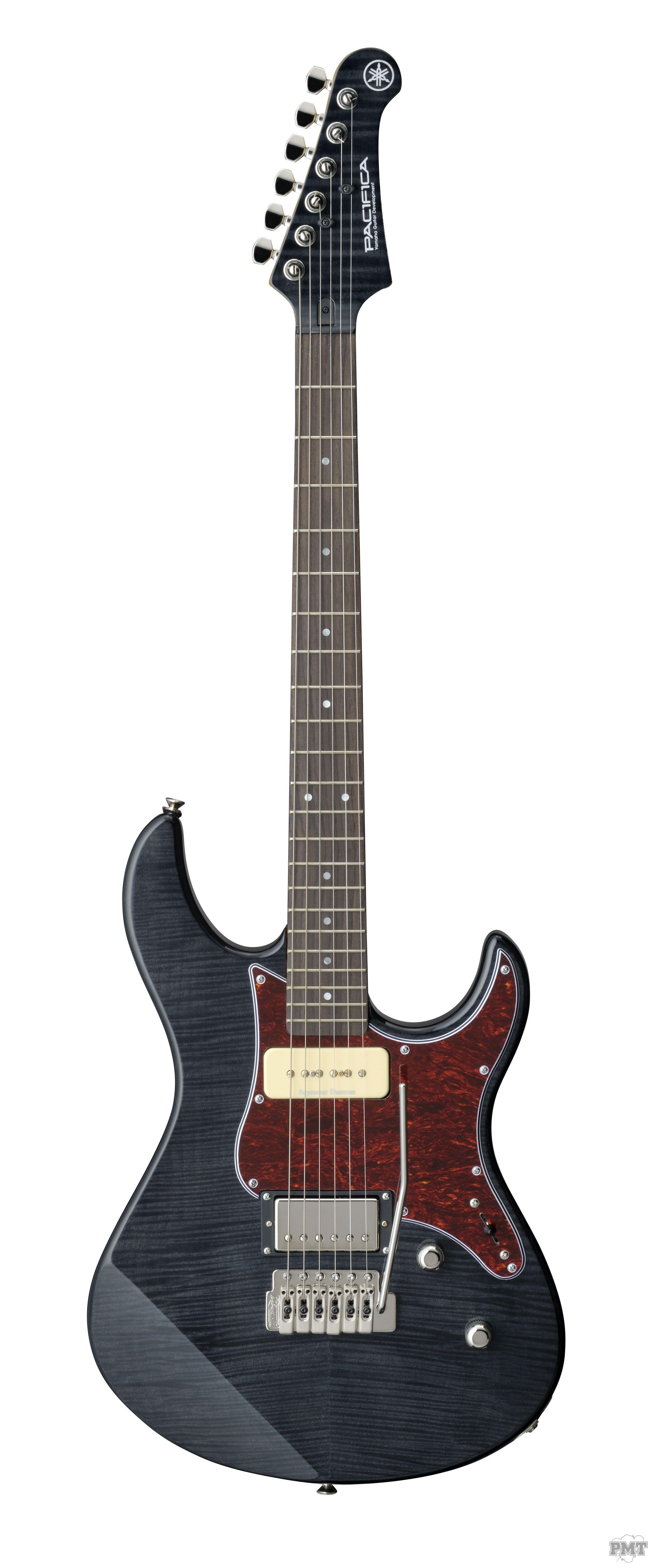 Yamaha Pacifica 611 Vfm Electric Guitar In Translucent Black Guitarras Eletricas Guitarras Instrumentos Musicais