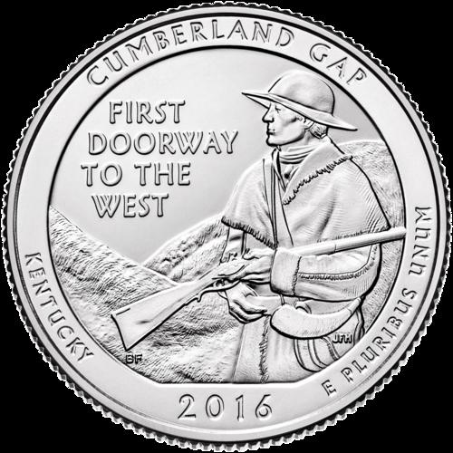 2016 America The Beautiful Silver - Cumberland KY