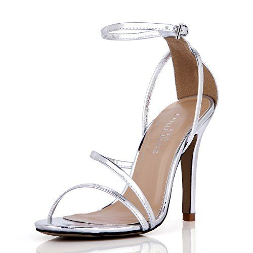 d3f7e8d66 Simple Dress Silver Heeled Sandal Pumps Women Open Toe An... https   www. amazon.com dp B01E0VW2ZK ref cm sw r pi dp x q43SybD2RN2D5