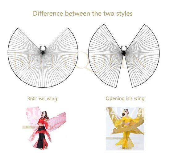 sewing pattern for isis wings | wholeslaes! 8pcs/lot, free shipping belly dance Performance opening ...
