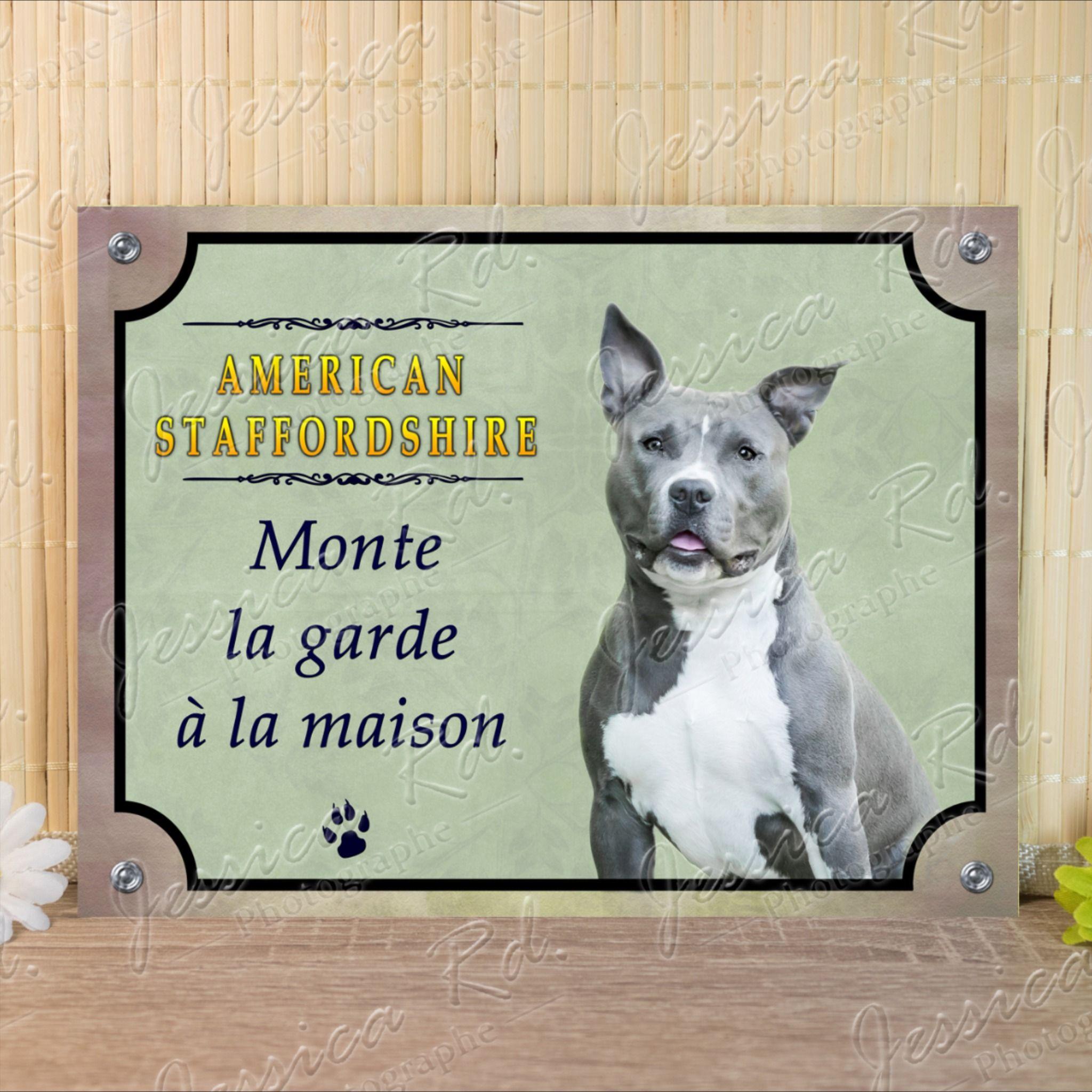 Panneau chien ou plaque Tervueren-01 20 cm