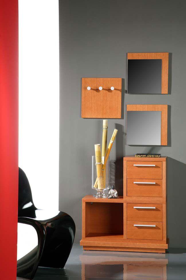 meuble d 39 entr e avec porte manteau et miroir picasso. Black Bedroom Furniture Sets. Home Design Ideas