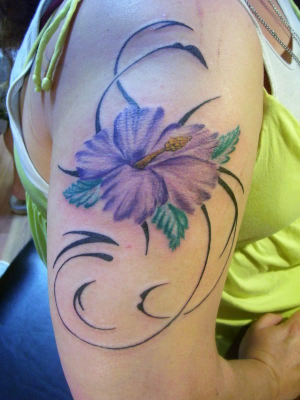 Tribal Hibiscus Flower Tattoo Designs Best Tattoo Design Ideas Orchid Tattoo Purple Orchid Tattoo Hibiscus Tattoo