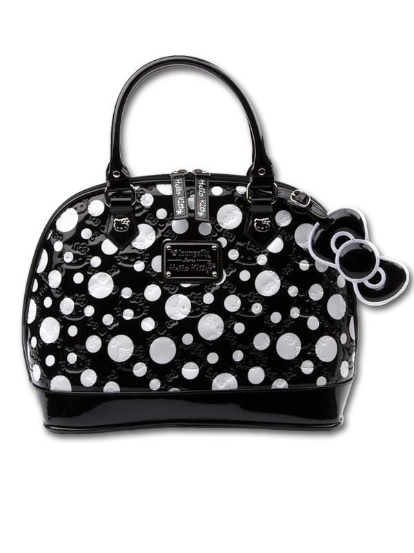 5145fac11201 Black with White Polka Dots