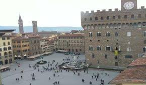 Firenze Piazza Della Signoria Spiaggia