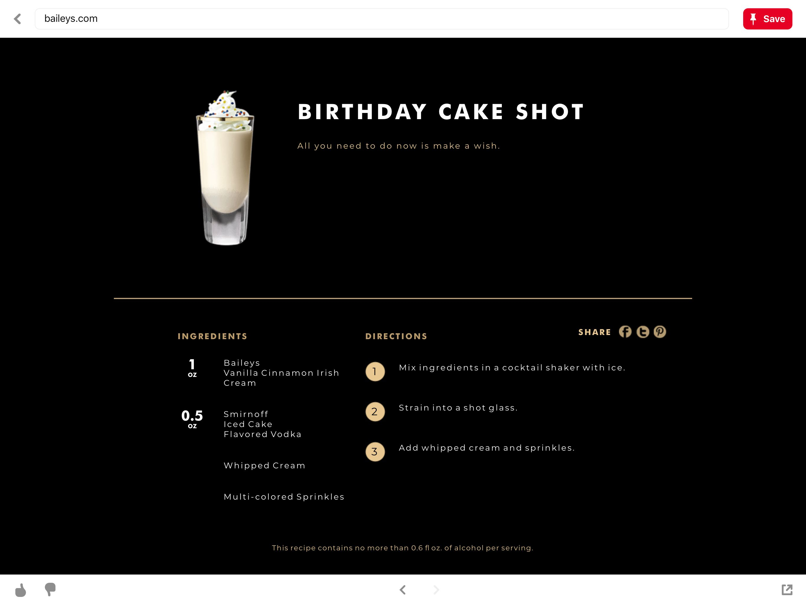 Pin by f d on drink flavored vodka birthday cake shots