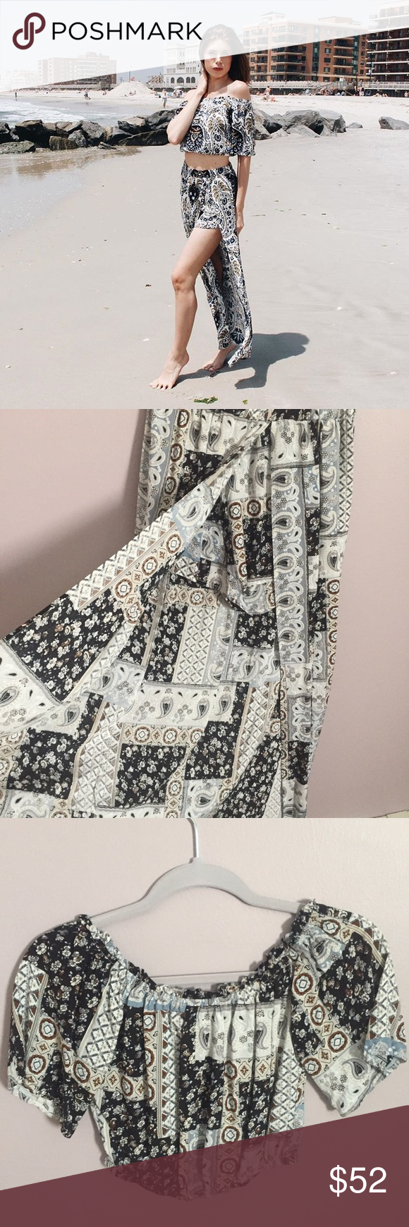 Illa illa piece maxi top skirt new without tags ium a little