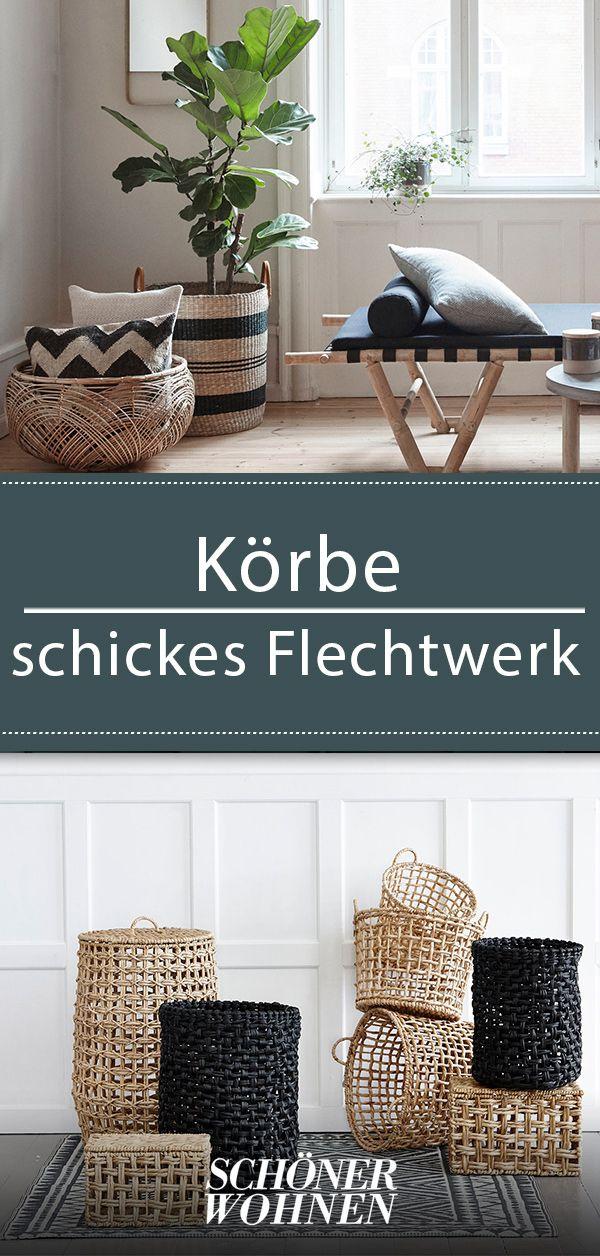 Körbe: Modelle aus Hanf, Metall, Rattan und Holz ...
