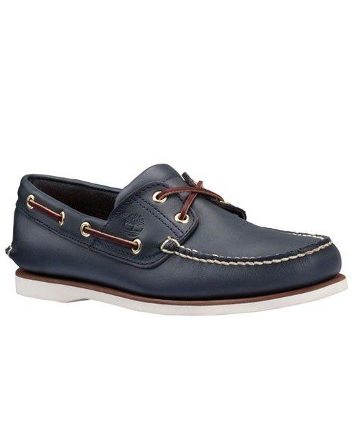 Timberland 2 Eye size 131415 Boat Shoe (navy) | Zapatos