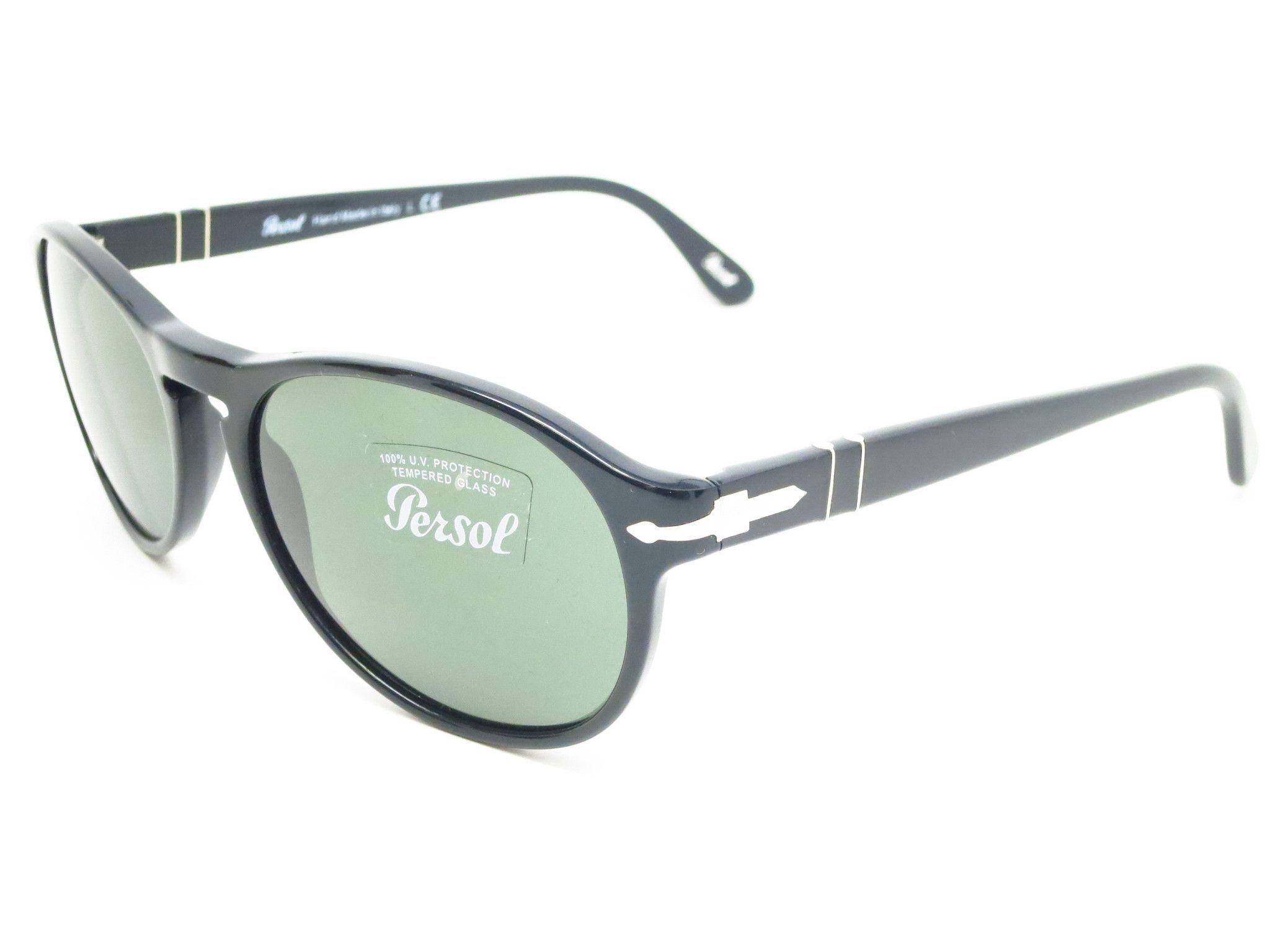 c3f58ac08bf5 Persol PO 2931-S 95/31 Shiny Black Sunglasses | Persol Sunglasses