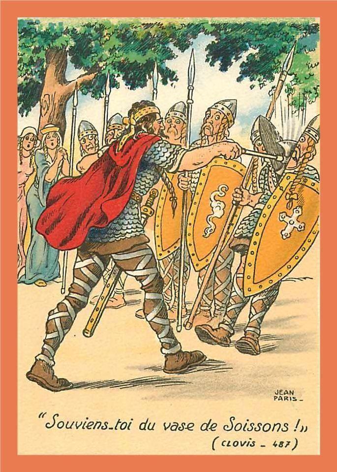 Histoire Du Vase De Soissons : histoire, soissons, A322/457, PARIS, 'vase, SOISSONS, Barré, Dayez, Merovingian,, Clovis,, Kings