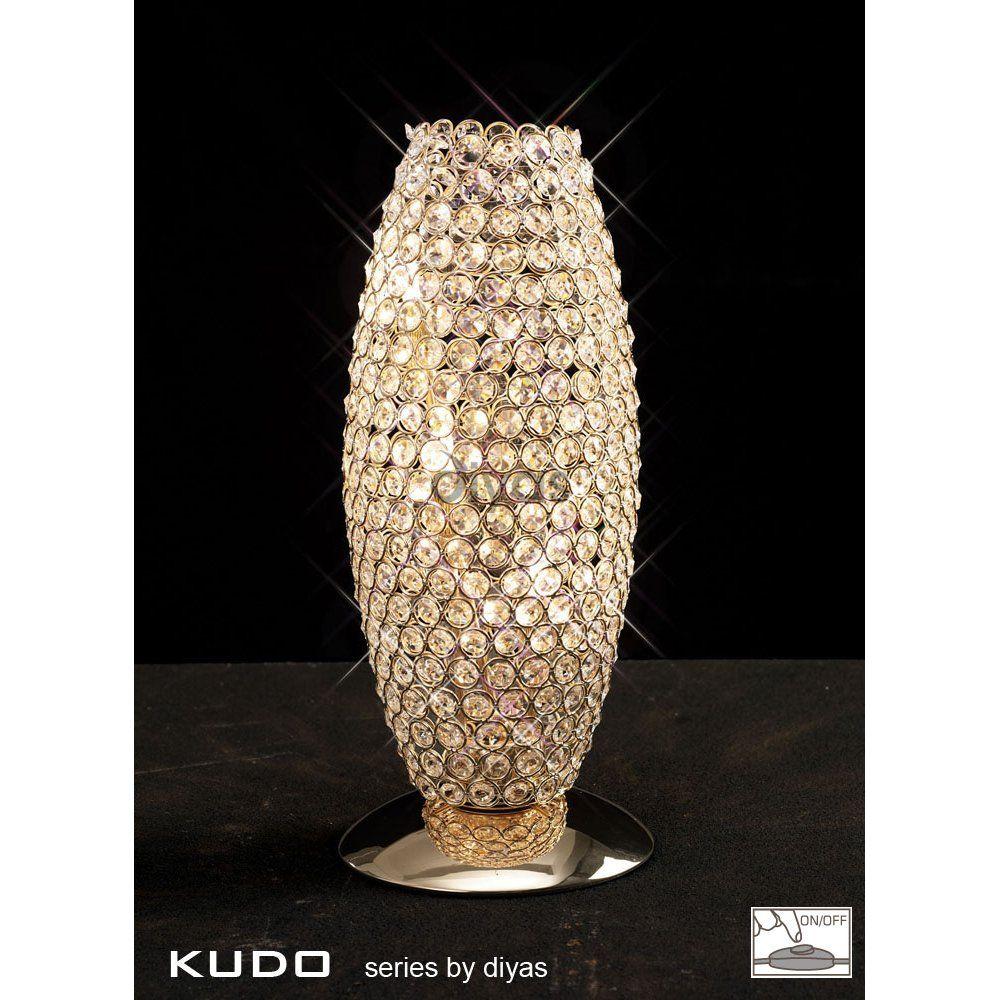 Wow diyas kos 3 light crystal table lamp with french gold finish uk diyas kos 3 light crystal table lamp with french gold finish uk160 aloadofball Gallery