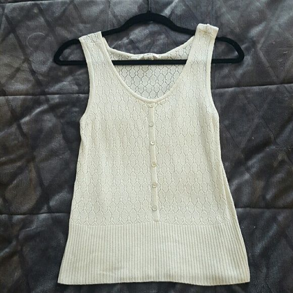 Cato knit tank Knit tank that is really cute with jeans or dress slacks, skits...very versitile Cato Tops Tank Tops