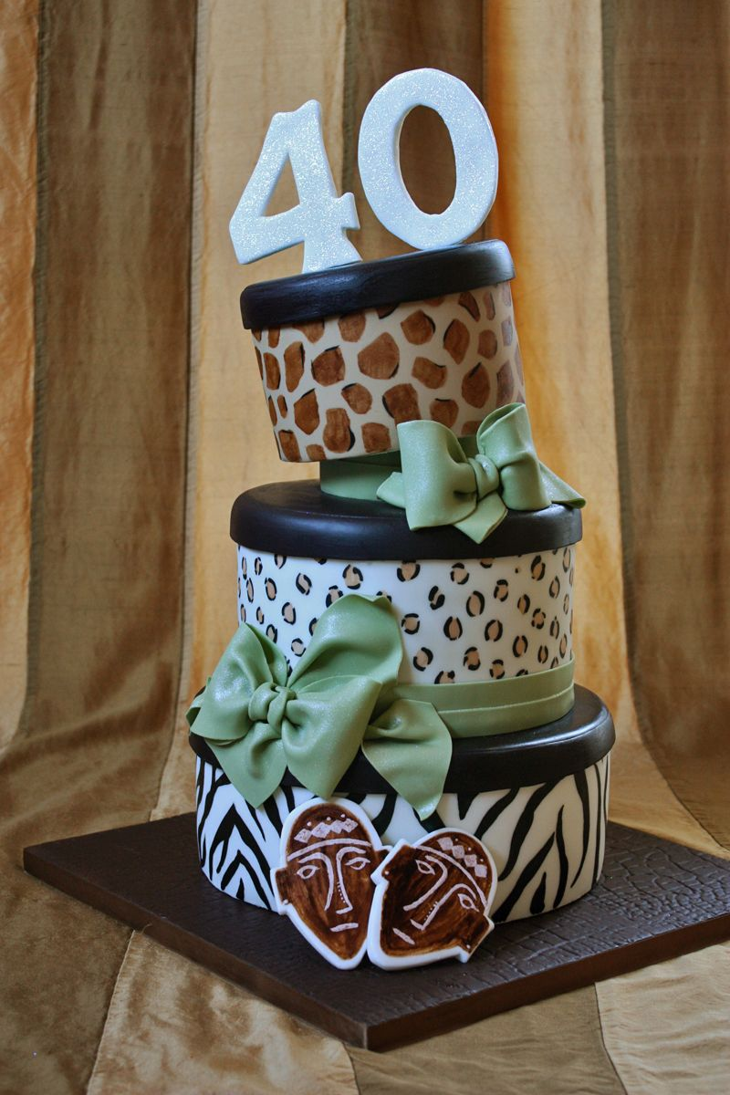 Outstanding On The Ranch With Images Animal Print Cake 40Th Birthday Funny Birthday Cards Online Inifofree Goldxyz