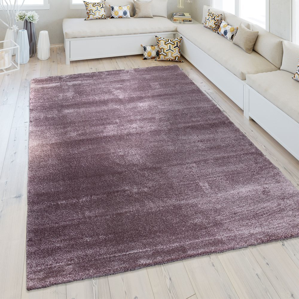 Kurzflor Teppich Wohnzimmer Meliert Teppich Wohnzimmer Lila Teppich Kurzflor Teppiche