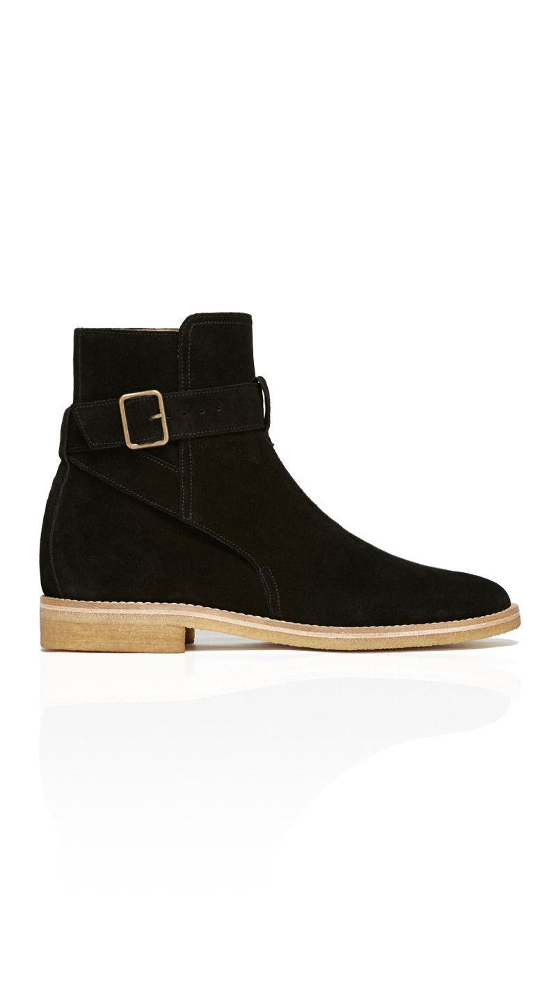 Represent Strapped (Jodhphur) Boot in Onyx Black