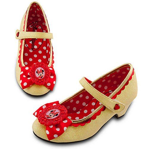 a1da231cf8f68 Amazon.com: Disney Classic Minnie Mouse Shoes with Bow Dress up ...