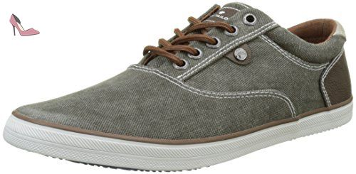 Tom Tailor 1682601, Baskets Pour Homme - - Nuts, 44