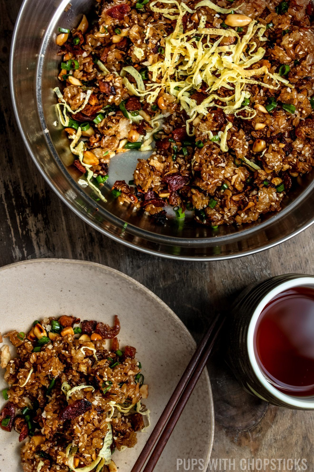 Chinese Sticky Rice (Lo Mai Fan)