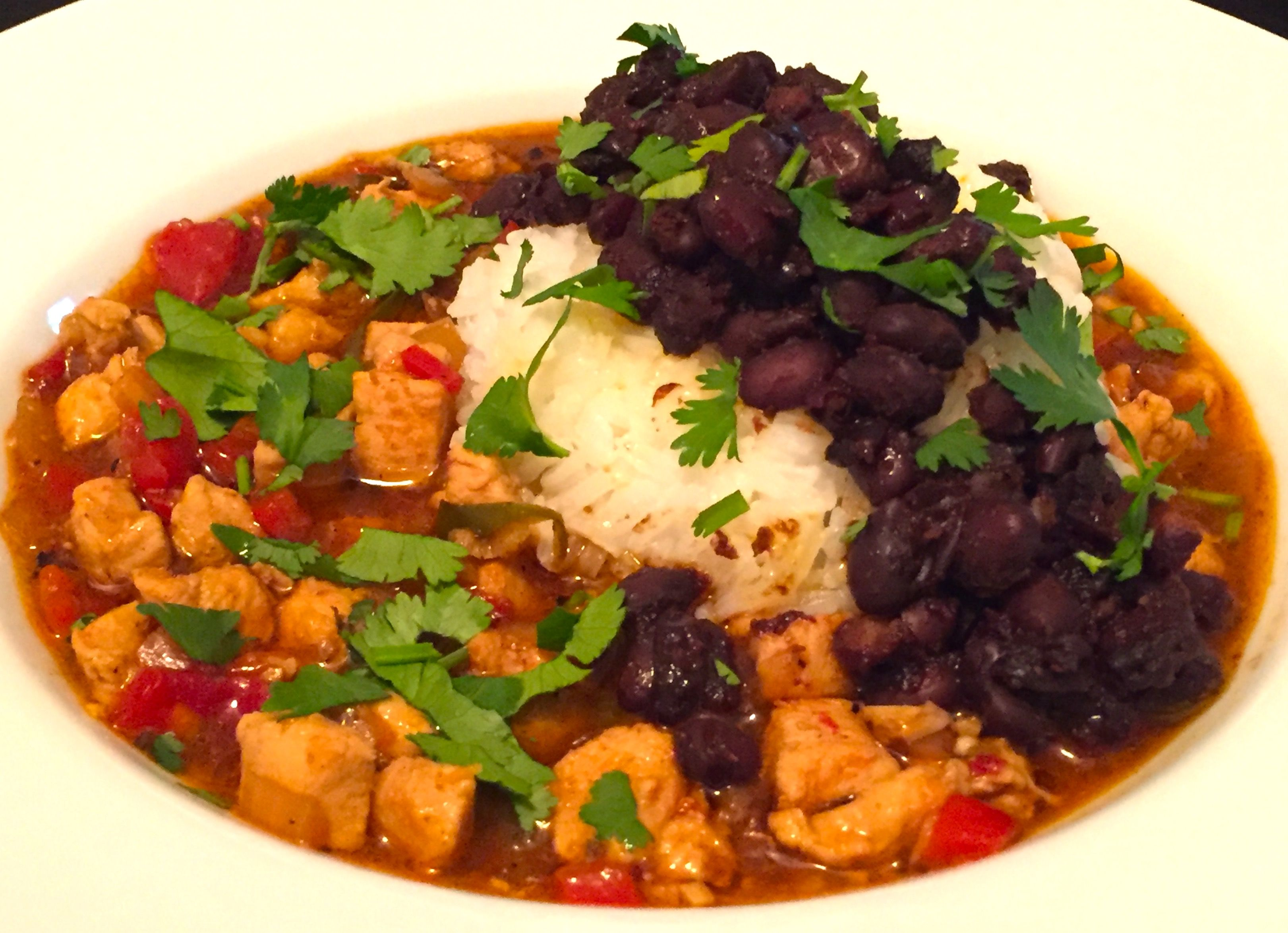 Chinese Chili with Jasmine Rice & Fermented Black Beans