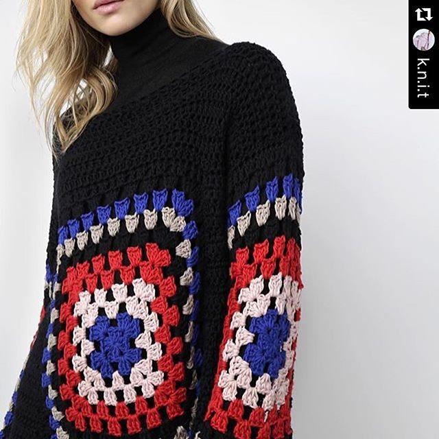 Granny square #crochet goodness. Love it. ❤   crochet   Pinterest ...