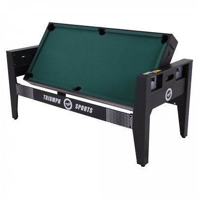 Combo Game Table Billiards   Table Tennis   Air Hockey   Football +  Accessories