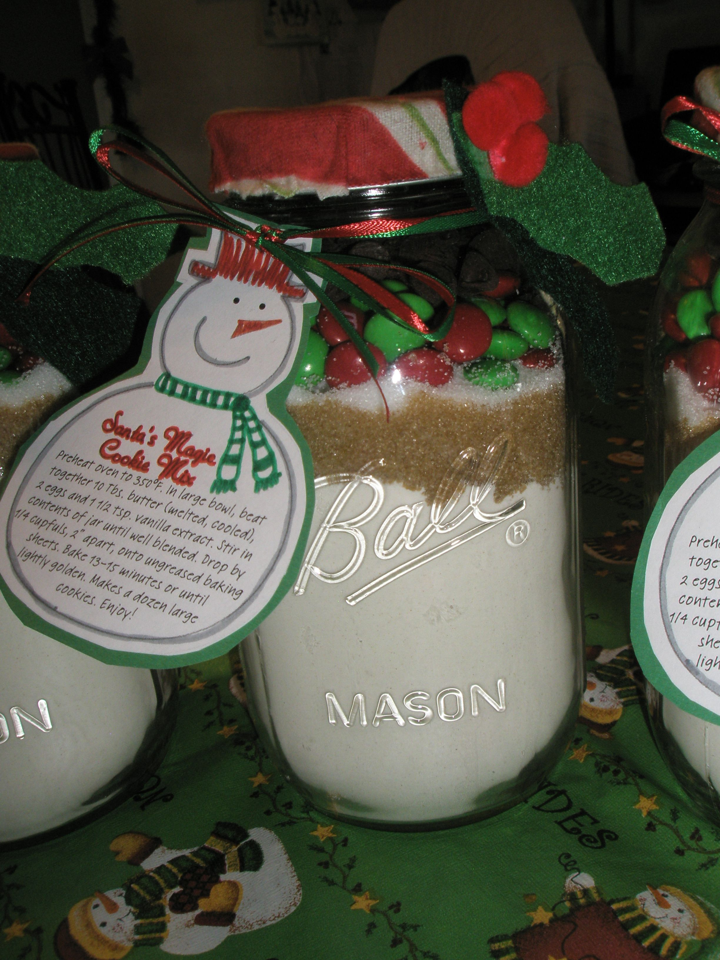 Christmas Cookie Jars Idea From Womans World Magazine =)
