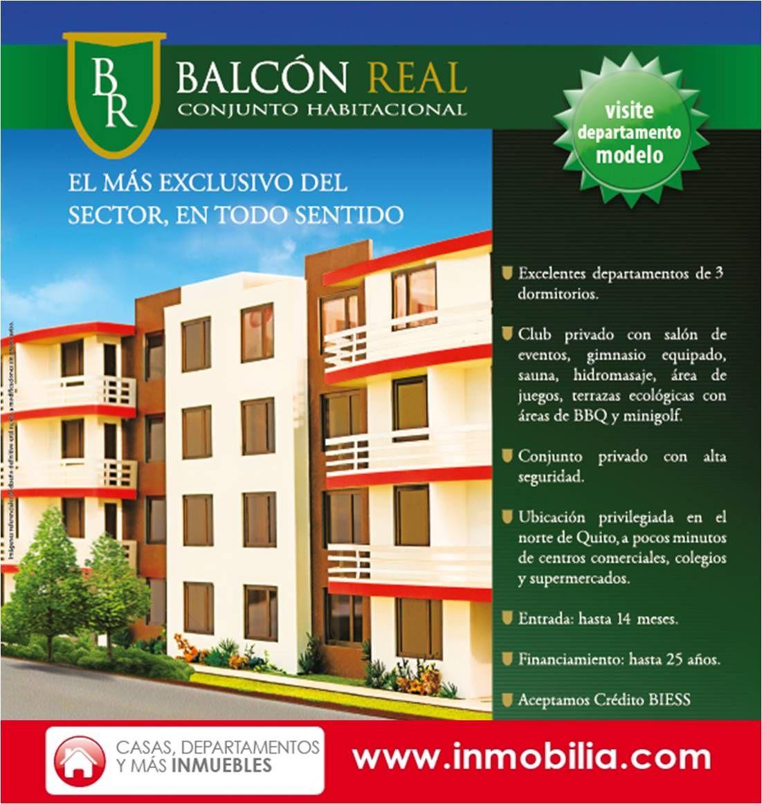 Balc N Real Departamentos De Venta En Quito Financiamiento  # Muebles Relax Ecuador