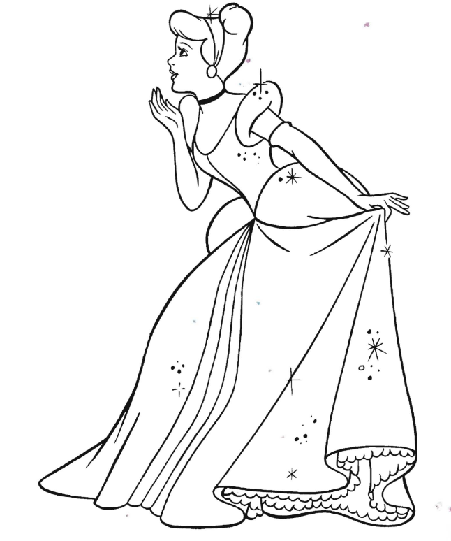 Disney Princesses Cinderella Colouring Pages Az Coloring Pages Cinderella Coloring Pages Love Coloring Pages Free Disney Coloring Pages