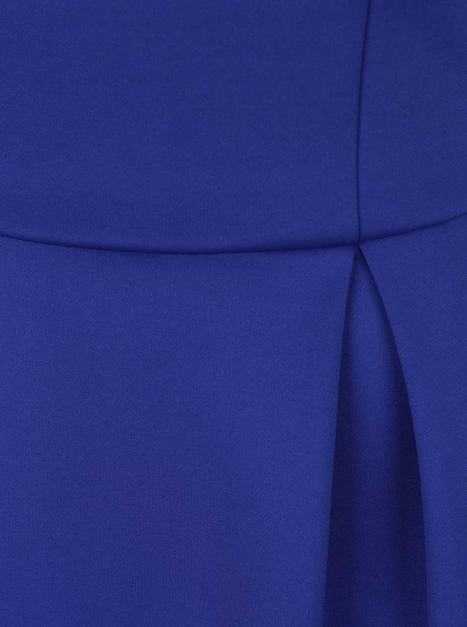 fce15bfa5eea Modré šaty s odhalenými rameny a krajkovými lemy Dorothy Perkins Tall