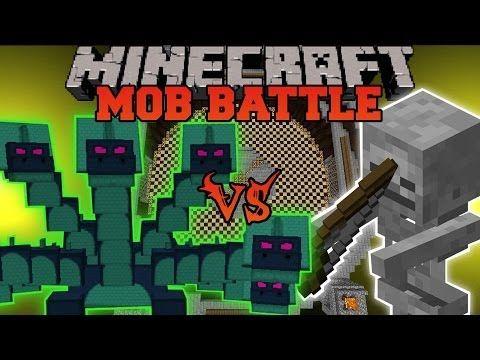 Minecraft Hydra Vs Skeleton Minecraft Mob Battle Twilight Forest Mod Youtube Minecraft Mobs Minecraft Minecraft Mods