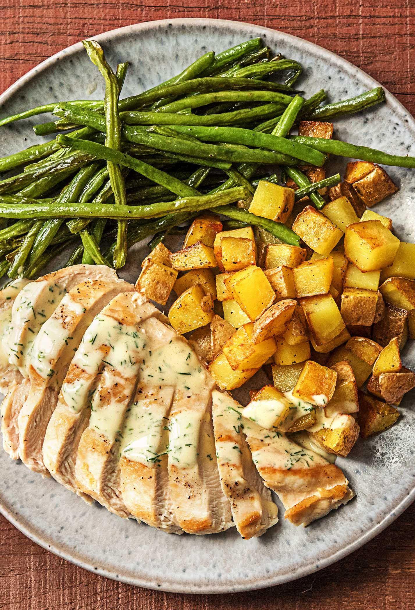 Creamy Dill Chicken Recipe | HelloFresh