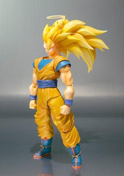 Dragonball Z Super Saiyan 3 Goku Tamashii
