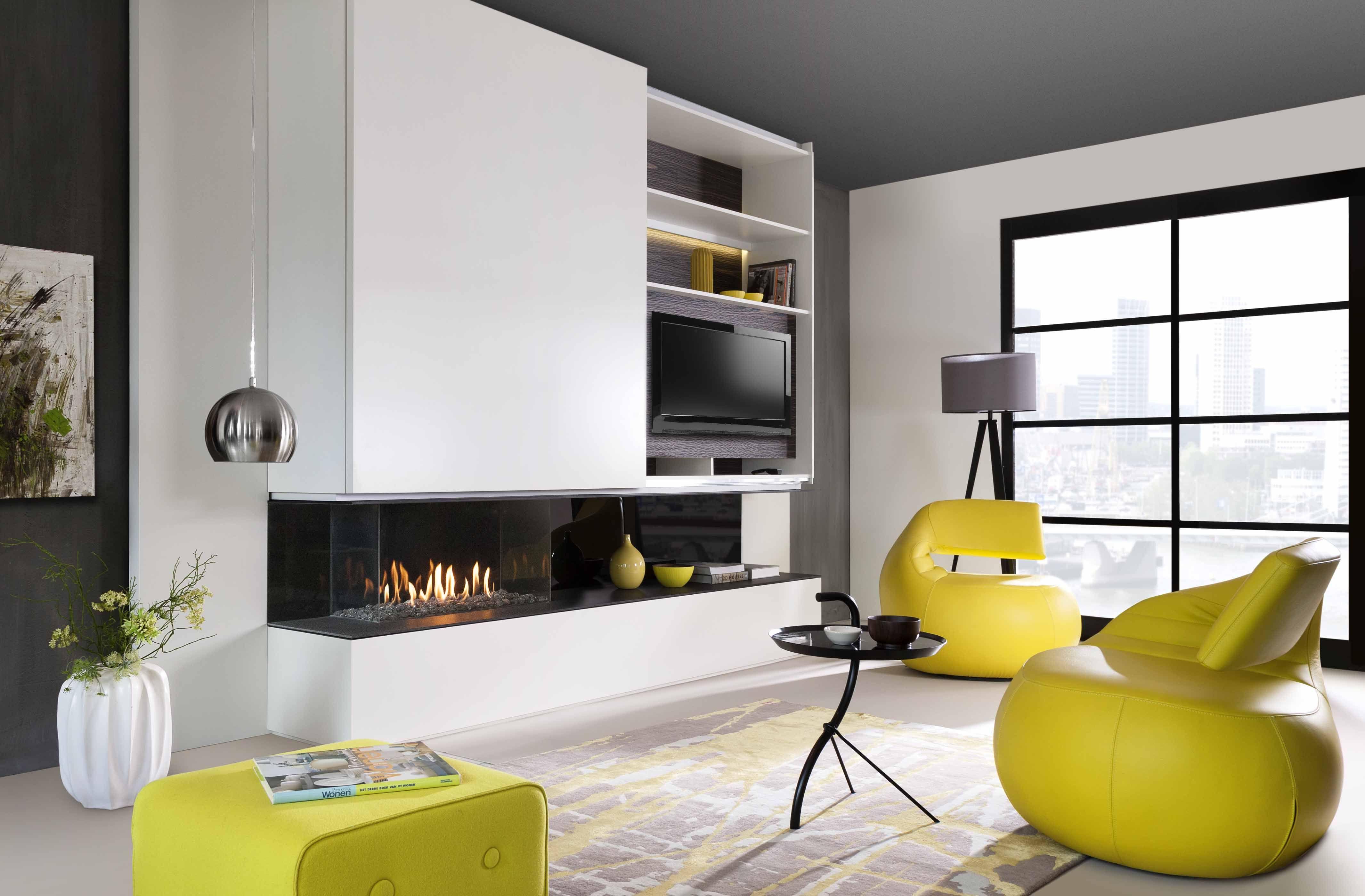 kalfire chemin e gaz mod le eco line 90 3 faces 40 de r duction de la consommation de gaz avec. Black Bedroom Furniture Sets. Home Design Ideas