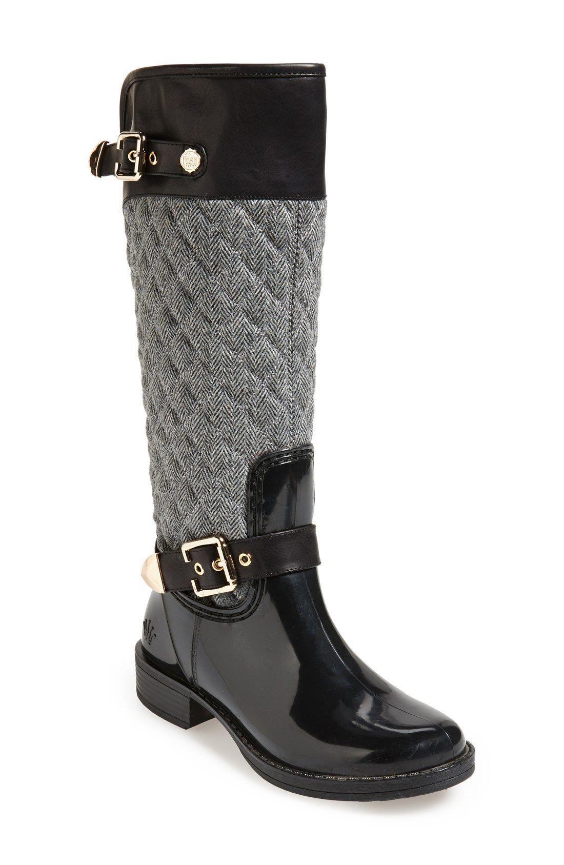 Equestrian Rain Boots Are Trending This Season Fall