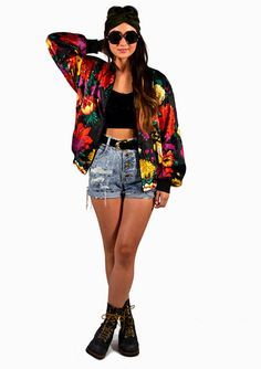 Image result for 80s bomber jacket outfits | Retromancer costume ...