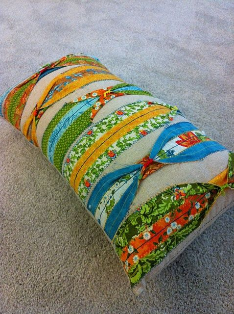 diy anthro pillow hack | Found on whoswatchingthebaby.com