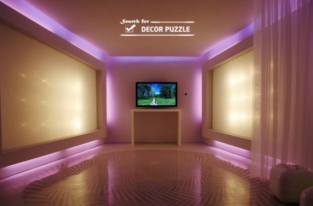 How To Install Led Light Strips And Rgb Strip Lights For Ceiling False Ceiling Design False Ceiling Bedroom Pop False Ceiling Design
