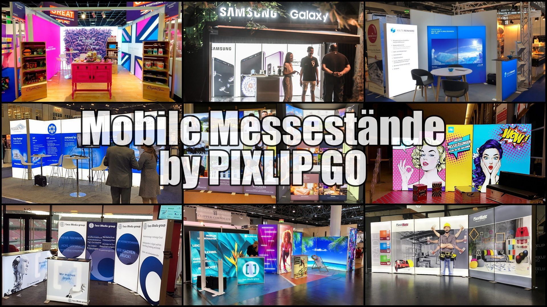Mobile Messestande Leichtgewicht Mit Led Technik Die Mobilen Messestande By Pixlip Go Vereinen Standarchitektur Kom Led Technik Mobiler Messestand Messewand