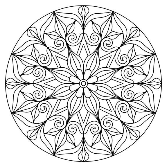 Pin by Dixie Blaney on Coloring pages | Pinterest | Mandalas